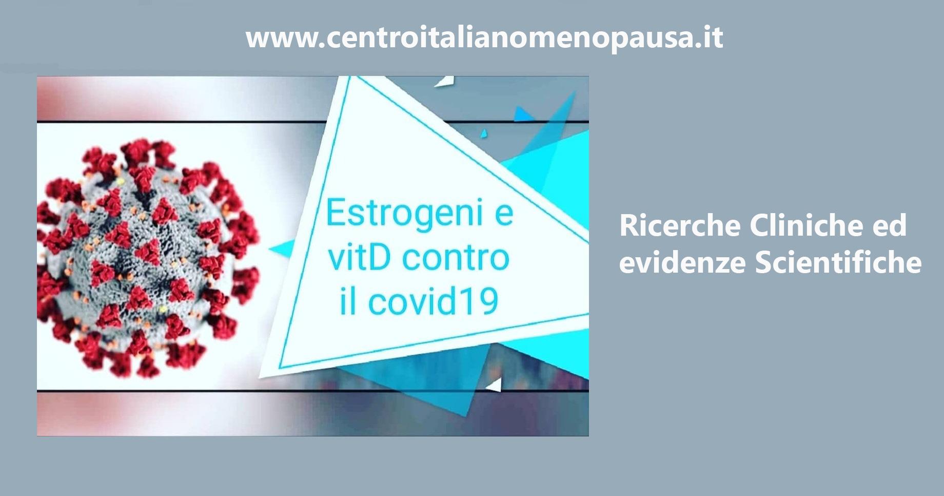 Estrogeni e vitamina D contro il covid19